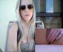 Novo video da Clara Aguilar se masturbando